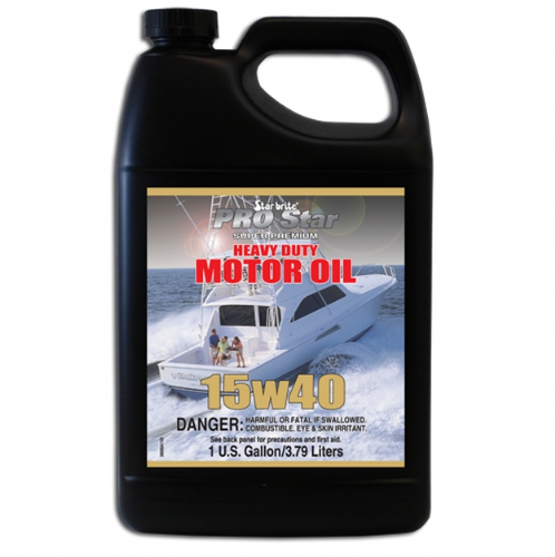 Starbrite Pro Star Super Premium Heavy Duty Motor Oil 15w40 - 3.8 ltr